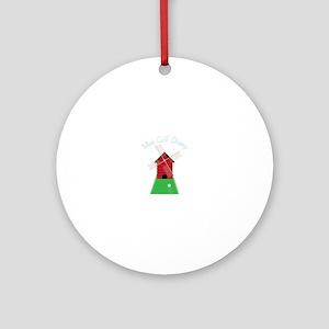Mini Golf Champ Ornament (Round)