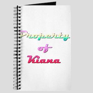 Property Of Kiana Female Journal