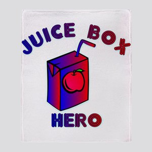 Juice Box Hero Throw Blanket