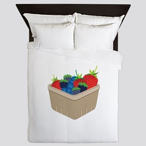 Basket of Berries Queen Duvet