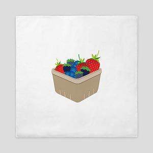 Basket of Berries Queen Duvet