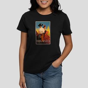 Feria de Sevilla, Spain, Vintage Art T-Shirt