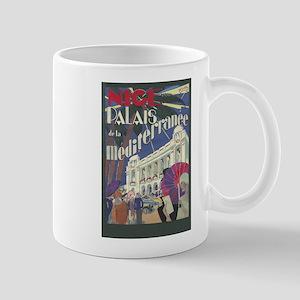 Nice, France, Vintage Art Mugs