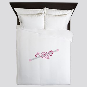 Cheerleader Baton Queen Duvet