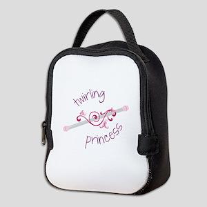 Twirling Princess Baton Neoprene Lunch Bag