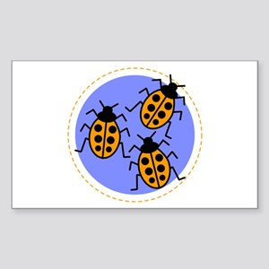 ladybug Rectangle Sticker