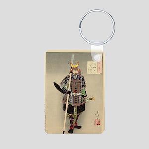 Yoshitoshi Ukiyo-e #1 Aluminum Photo Keychain