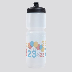 23 years old - 23rd Birthday Sports Bottle