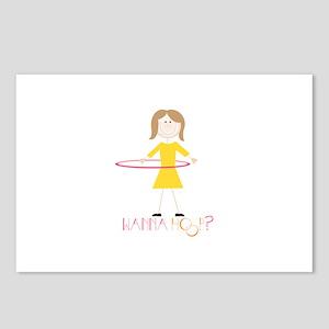Wanna Hoop Postcards (Package of 8)