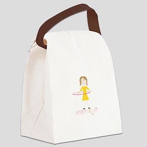 Wanna Hoop Canvas Lunch Bag