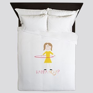 Wanna Hoop Queen Duvet