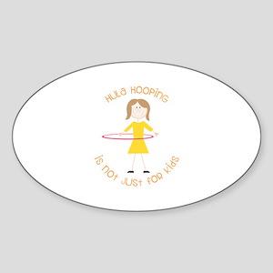 Hula Hooping Sticker