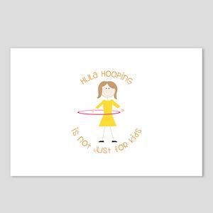 Hula Hooping Postcards (Package of 8)