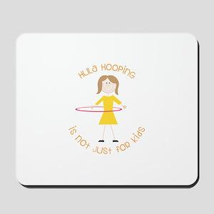 Hula Hooping Mousepad