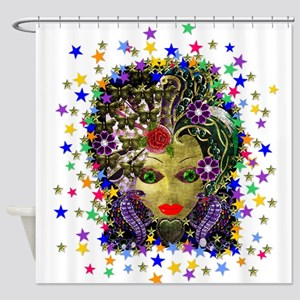 Witchy Mystic 2 Shower Curtain
