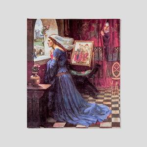 Waterhouse: Fair Rosamund Throw Blanket