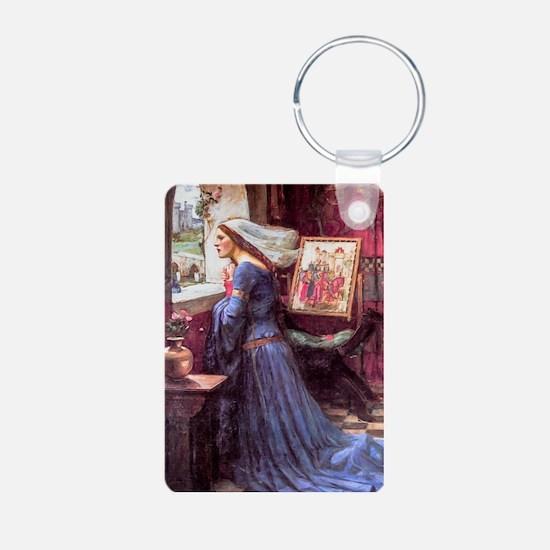 Waterhouse: Fair Rosamund Aluminum Photo Keychain
