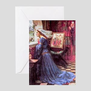 Waterhouse: Fair Rosamund Greeting Card