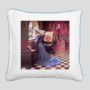 Waterhouse: Fair Rosamund Square Canvas Pillow