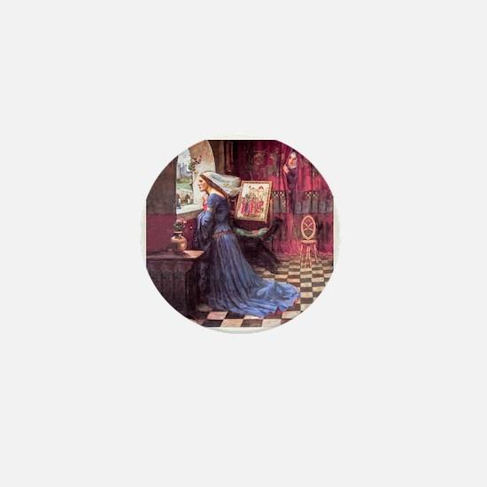 Waterhouse: Fair Rosamund Mini Button