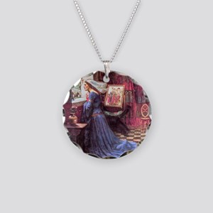 Waterhouse: Fair Rosamund Necklace Circle Charm