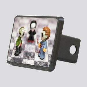 Horror Game Rectangular Hitch Cover