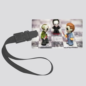 Horror Game Large Luggage Tag