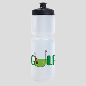 GOLF CLUBS Sports Bottle