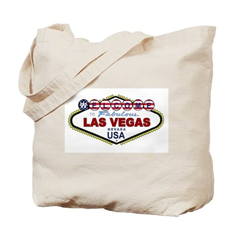 Las Vegas USA Tote Bag