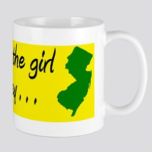 you can take the girl out of Jersey bum Mug