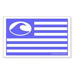 Surf Nation Rectangle Sticker