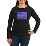 Surf International Women's Long Sleeve Dark T-Shir