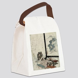 Tale of the Heike And A Lute - Ei Canvas Lunch Bag