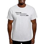 Tattooed Wife Light T-Shirt
