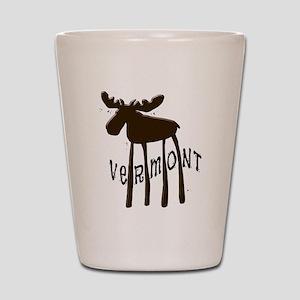 Vermont Moose Shot Glass