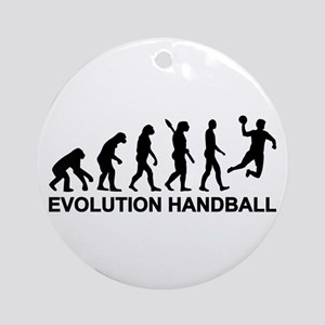 Evolution Handball Ornament (Round)