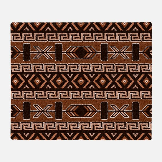 Unique Native american pattern Throw Blanket