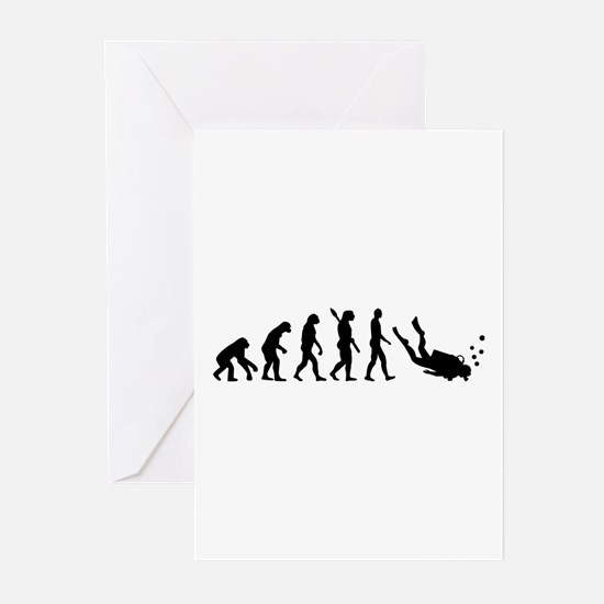 Evolution Diving Greeting Cards (Pk of 20)