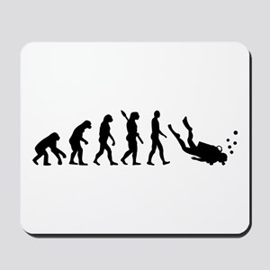 Evolution Diving Mousepad