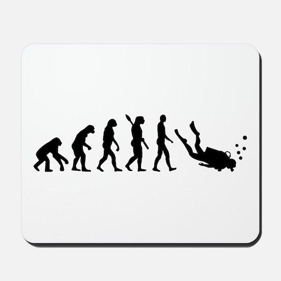 Evolution Diving Mousepad