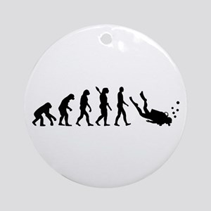 Evolution Diving Ornament (Round)