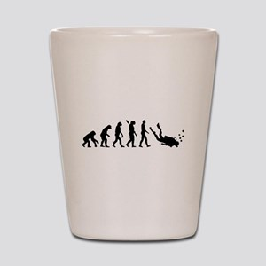 Evolution Diving Shot Glass