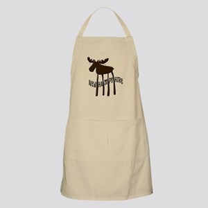 NH Chocolate Moose Apron
