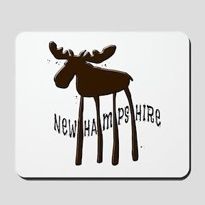 NH Chocolate Moose Mousepad