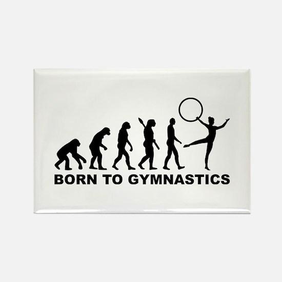 Evolution Gymnastics Rectangle Magnet