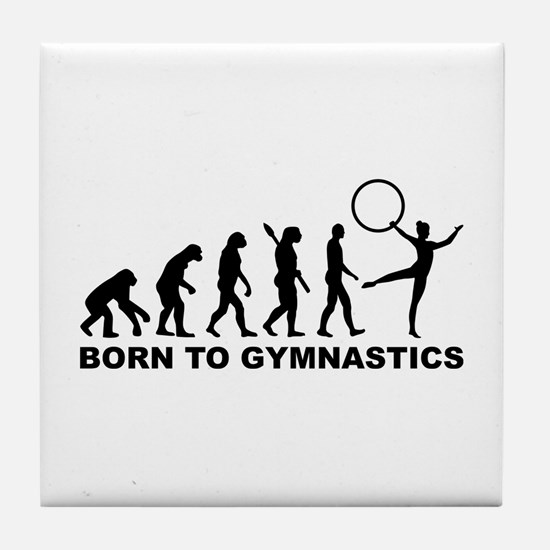 Evolution Gymnastics Tile Coaster