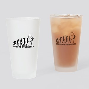 Evolution Gymnastics Drinking Glass