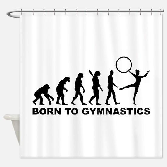 Evolution Gymnastics Shower Curtain