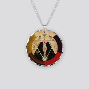 Golden Dawn R.r. Great Seal Necklace Circle Charm
