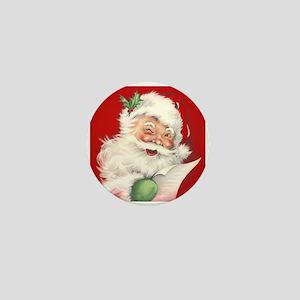 Vintage Santa Reworked! Mini Button